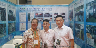 Vertical Sterilizer was Showed up in Indonesia Expo