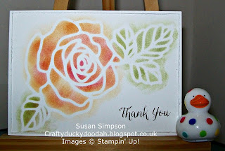Stampin' Up! Susan Simpson Independent Stampin' Up! Demonstrator, Craftyduckydoodah!,, Rose Wonder, Rose Garden Thinlets,