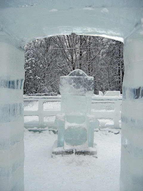 измайловский парк ледяные скульптуры