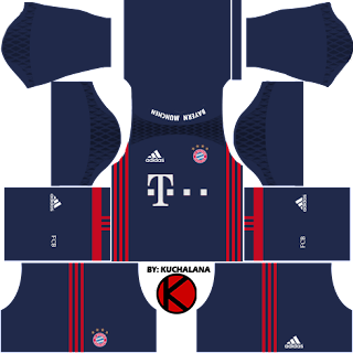 Bayern Munich 2016/17 - Dream League Soccer Kits and FTS15 - Kuchalana