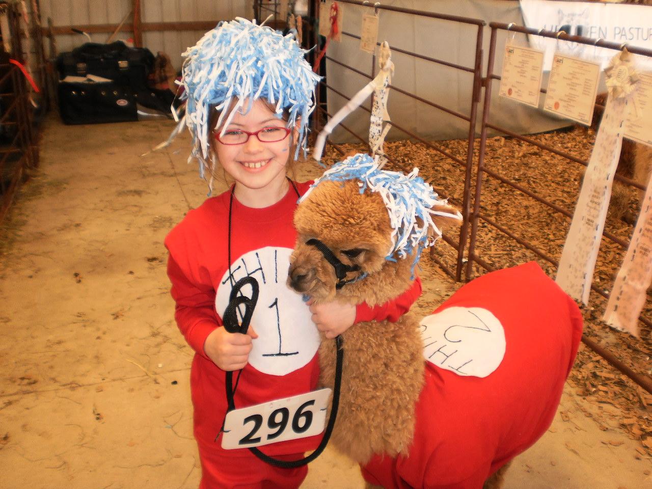 Yarny Girl: Alpacas in costume???