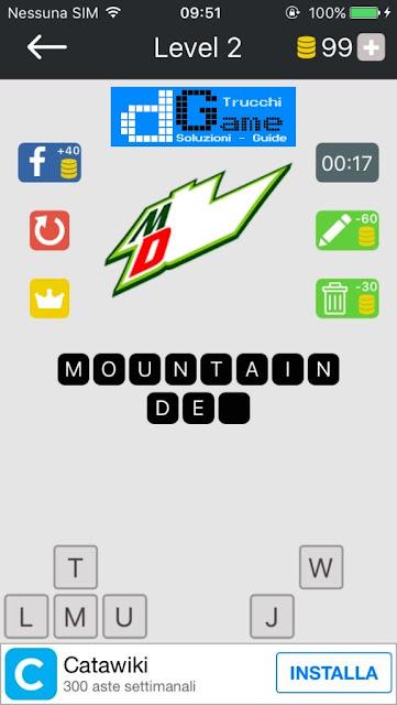 Food Quiz-Indovina il marchio soluzione pacchetto 2 livelli (1-12)