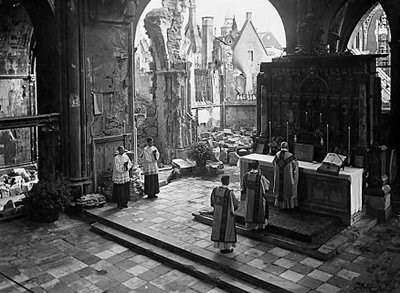 Image result for catholic churches in ruins