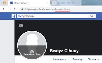 Username Facebook