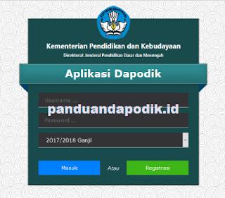 Tanya Jawab Seputat Implementasi Aplikasi Dapodikdasmen Versi 2018
