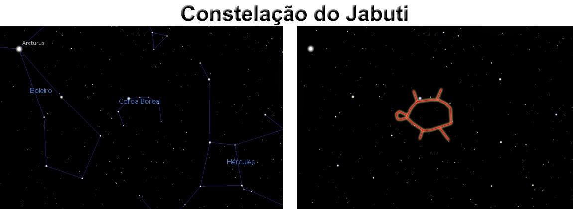 Constelação do Jabuti - Zauxihu Ragapaw