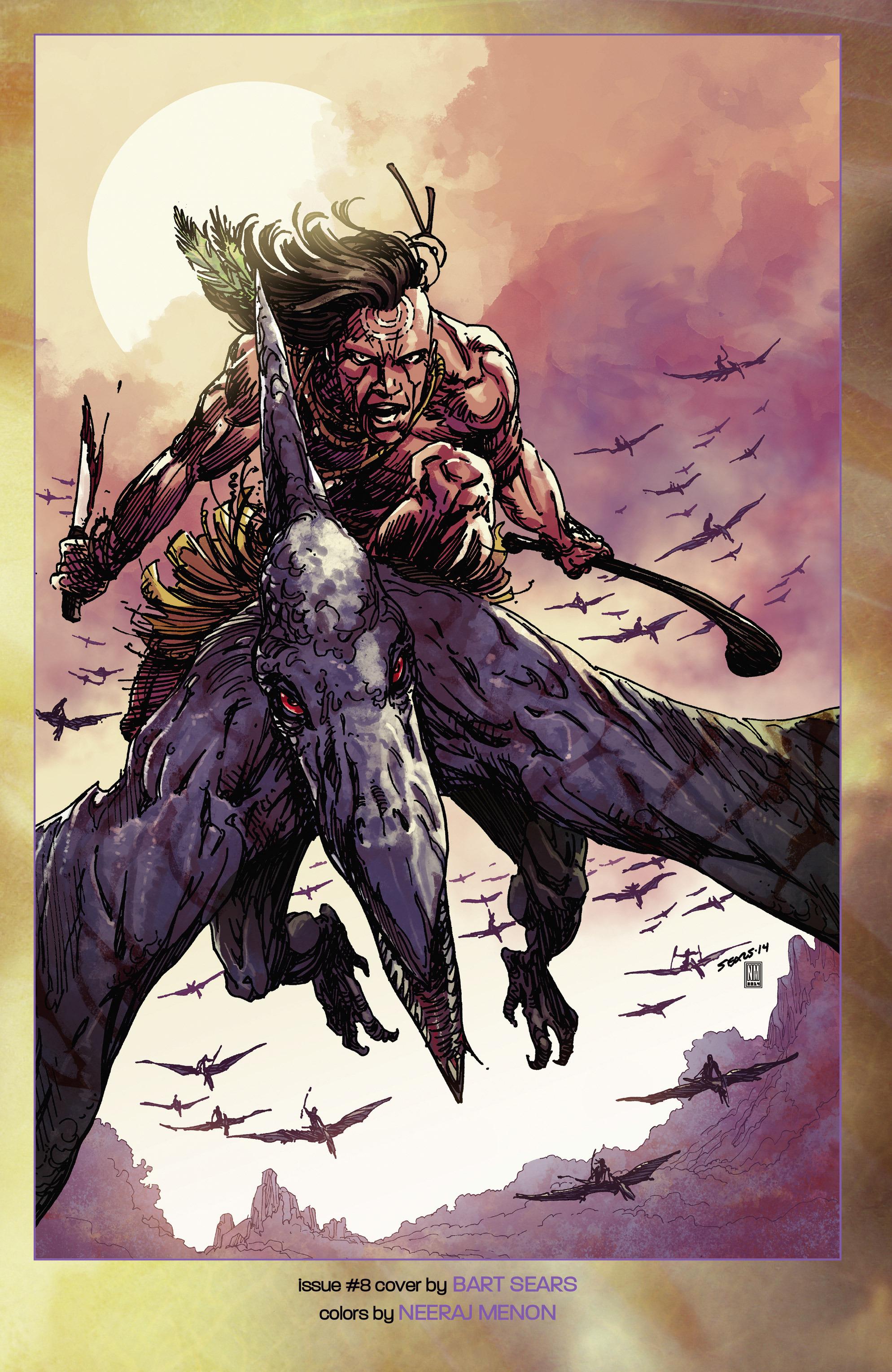 Read online Turok: Dinosaur Hunter (2014) comic -  Issue # _TPB 2 - 111