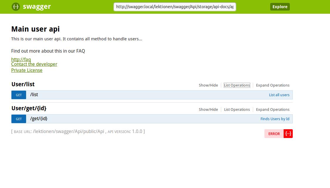 WebDev: laravel 5: create professional api with automatic