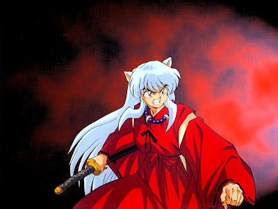 inuyasha fighting