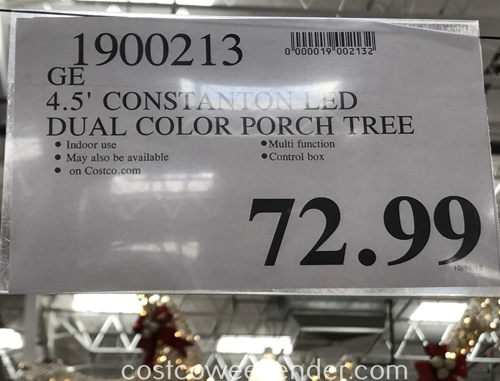 Costco 1900213 - Deal for the GE Just Cut Norway Spruce at Costco