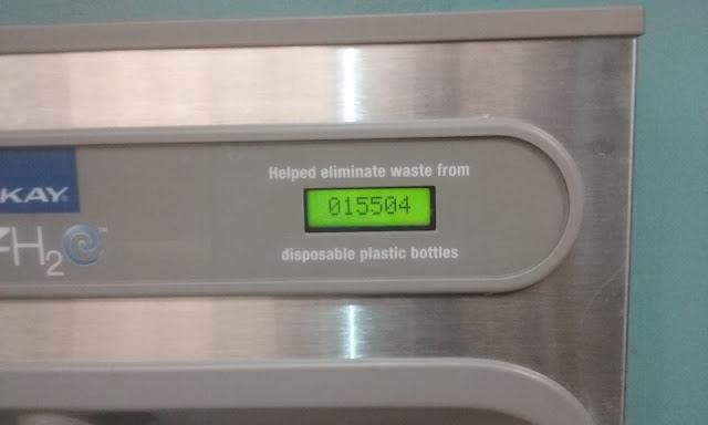 water fountain zero waste