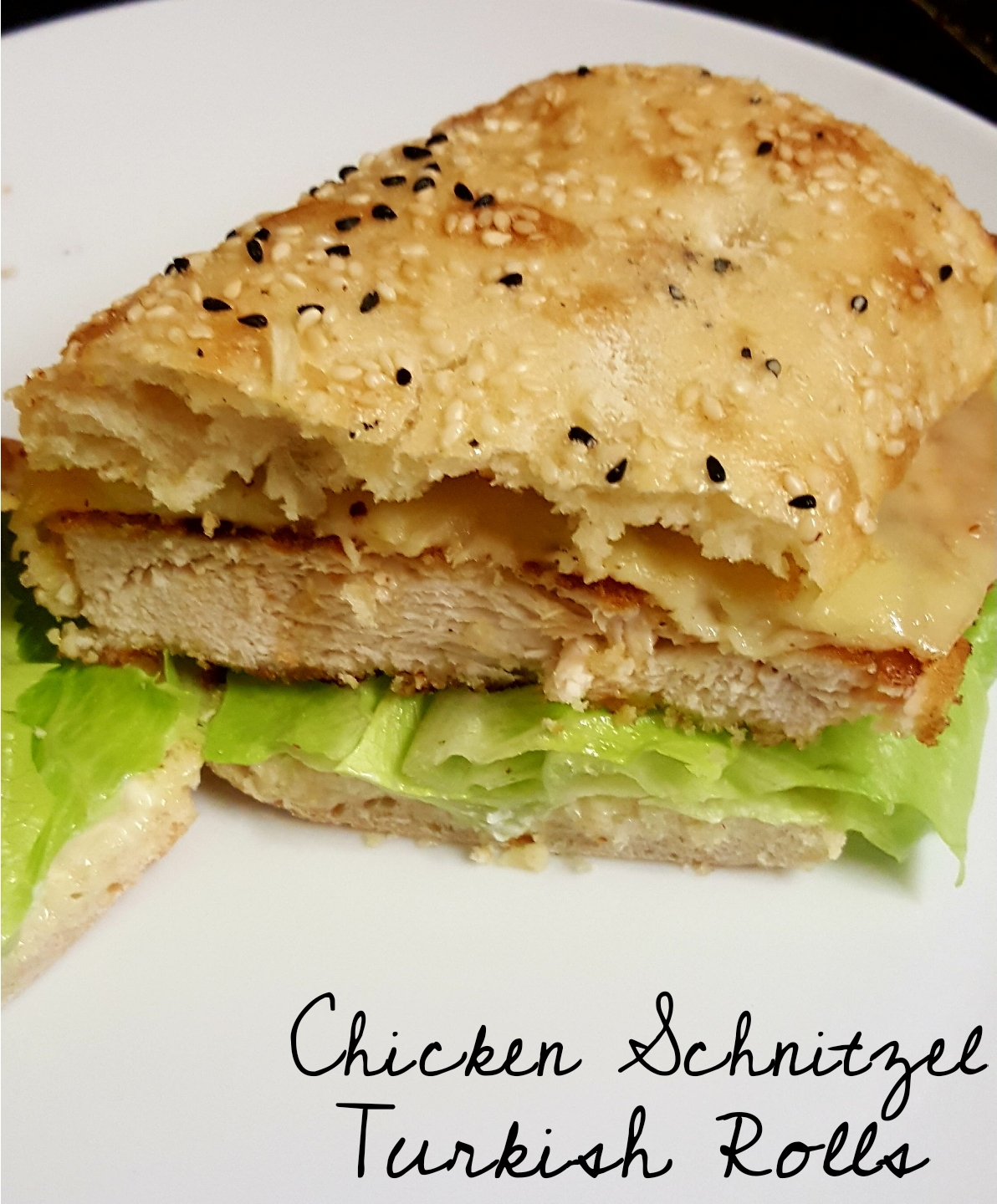 Frugal Family Of 6 Chicken Schnitzel Turkish Rolls