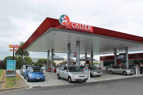 Las gasolineras Caltex están presentes en las dos islas de Nueva Zelanda