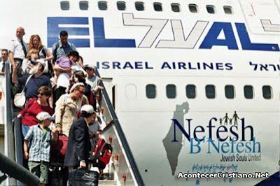 Judíos españoles emigran a Israel