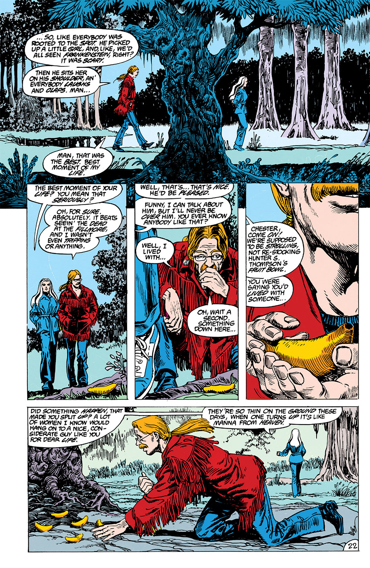 Swamp Thing (1982) Issue #63 #71 - English 22