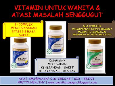 vitamin atasi senggugut