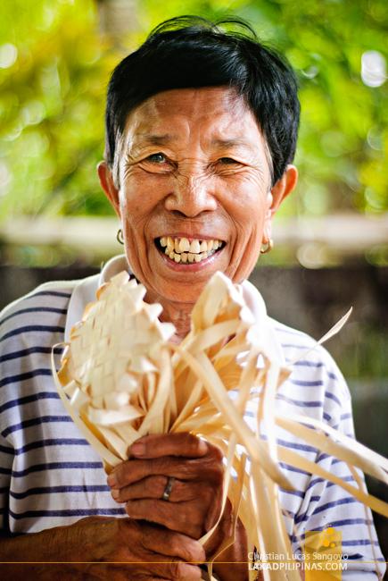Antique Buri Weaver