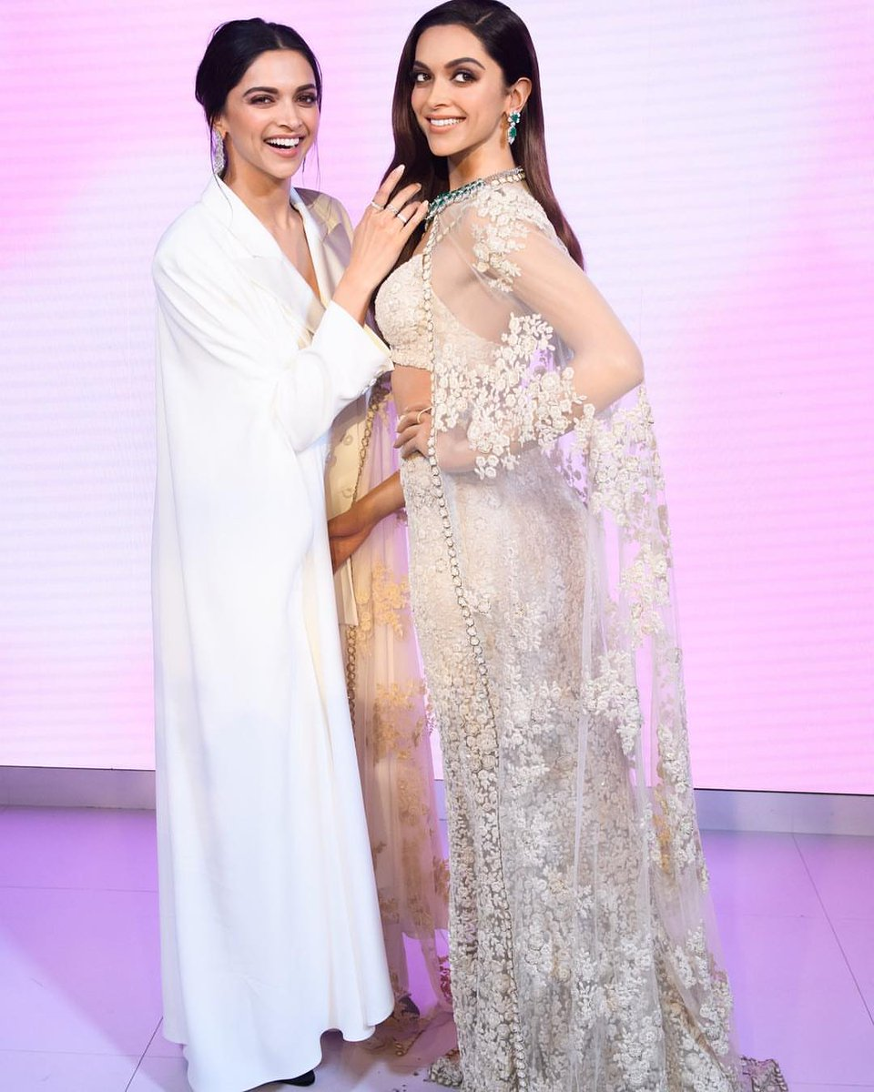 Deepika Padukone waxwork figure at Madame Tussauds London