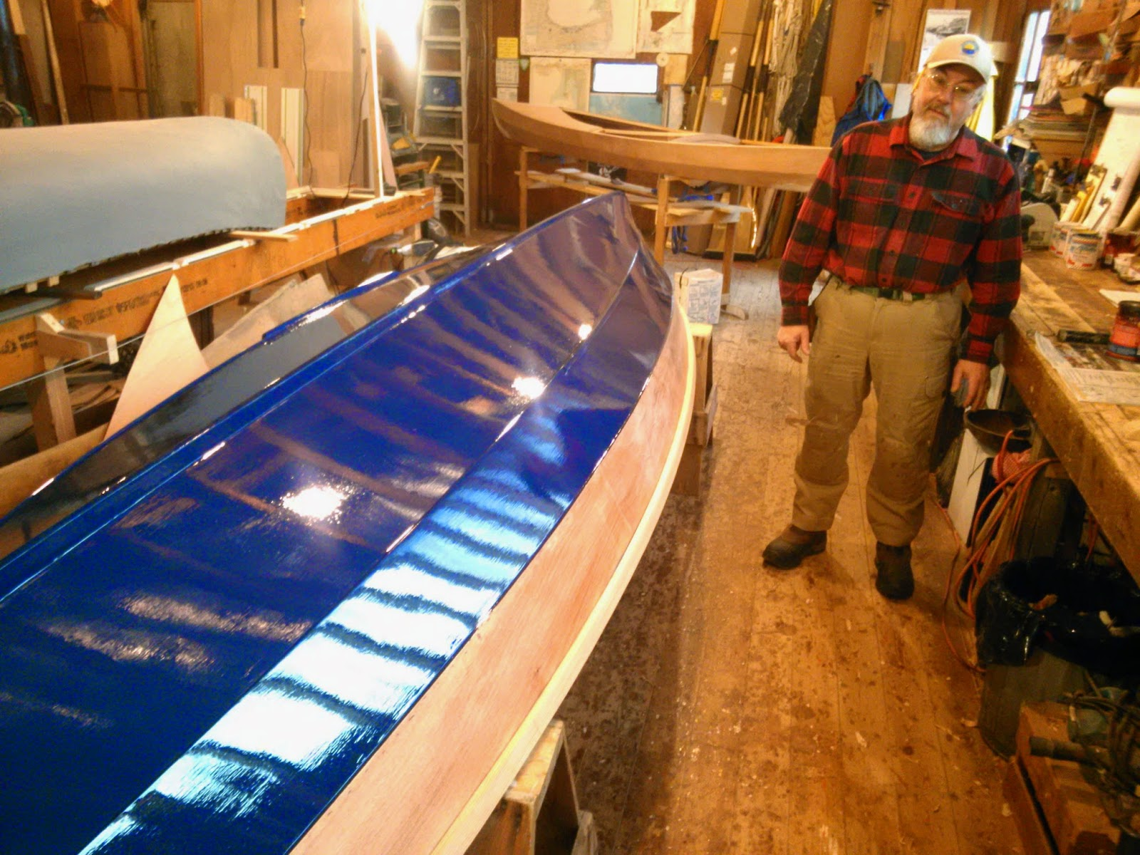 Drake 19 hull #1 built on Cape Cod   Chase Small Craft