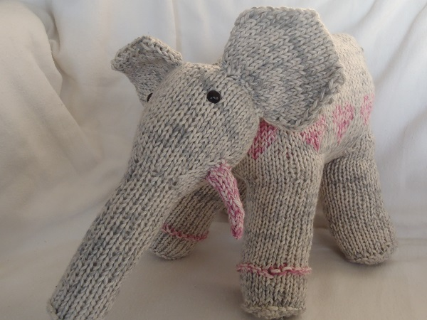 Stanas Critters Etc Knitting Pattern For Ella The Elephant
