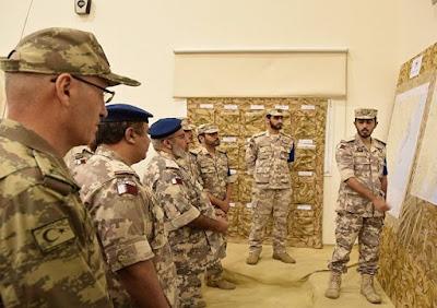 الجيش القطري