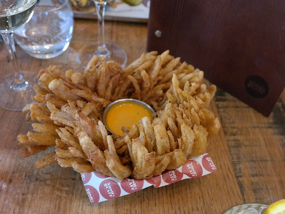 Nosh and Quaff Birmingham Blooming Onion