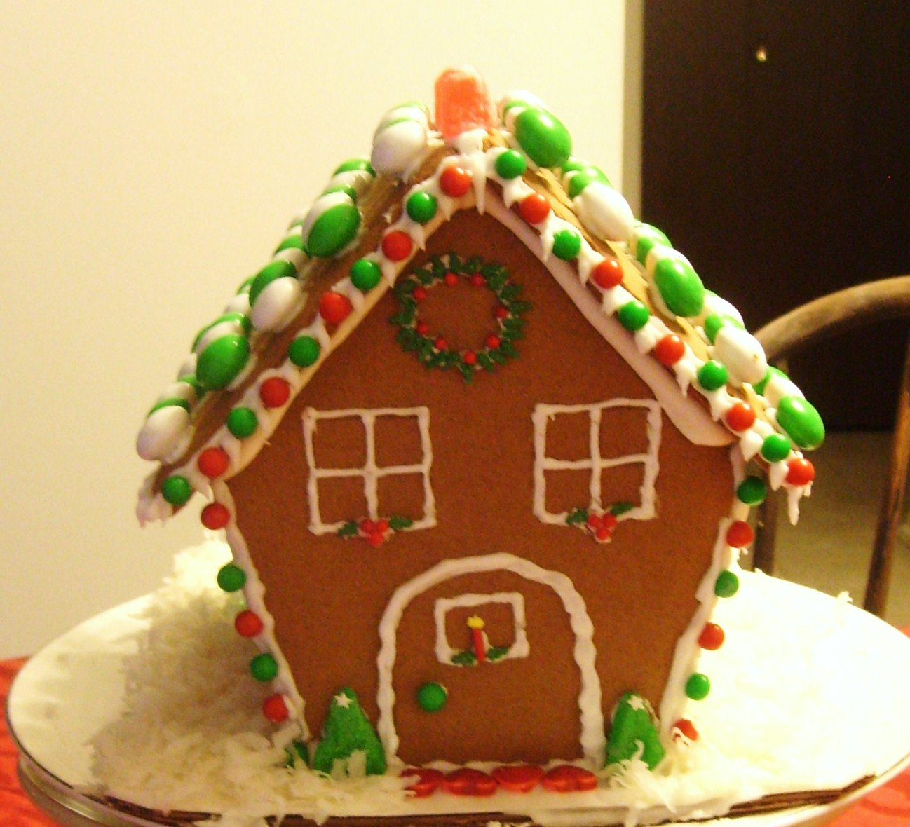 Back & Simple Savory u0026 Satisfying: Gingerbread House Decoration Ideas
