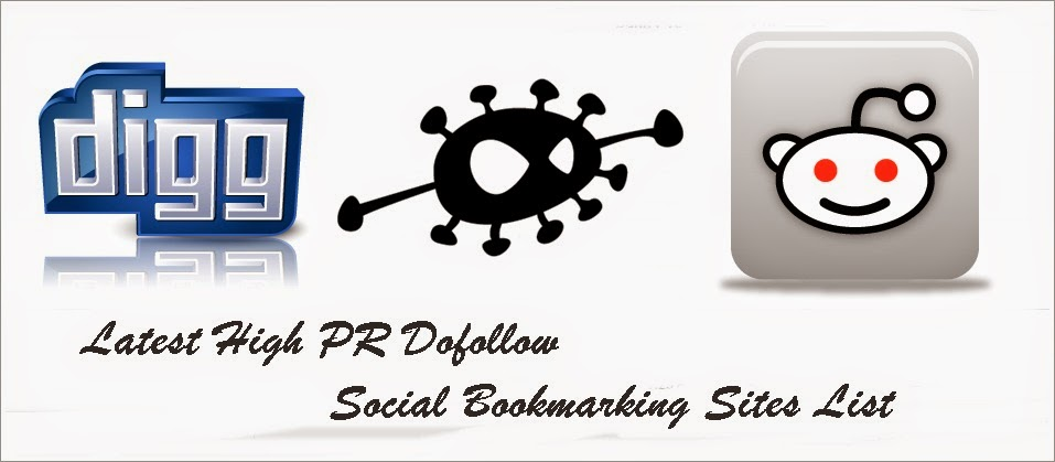 Top Danh sách Social Bookmarking Sites PR cao 2015
