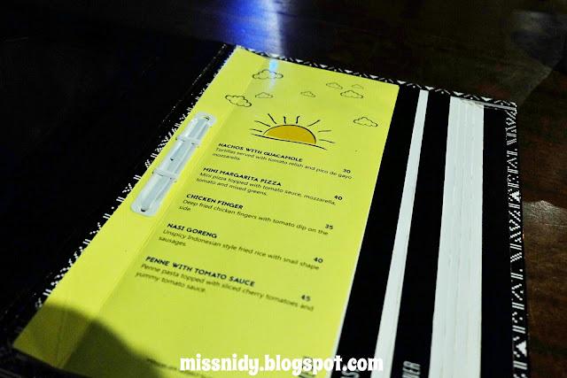 menu di noah's barn bandung