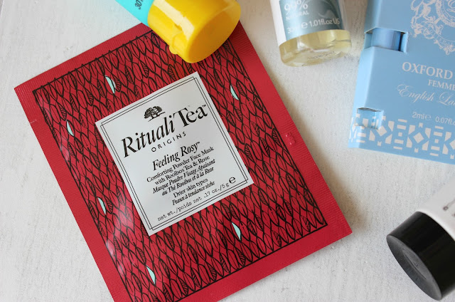 A review of the Origins RitualiTea Feeling Rosy Face Mask