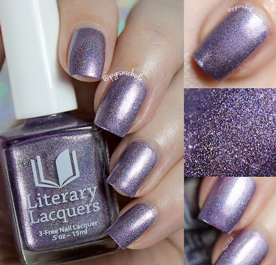 Literary Lacquers Lestat | A Vampire Chronicles Inspired Polish