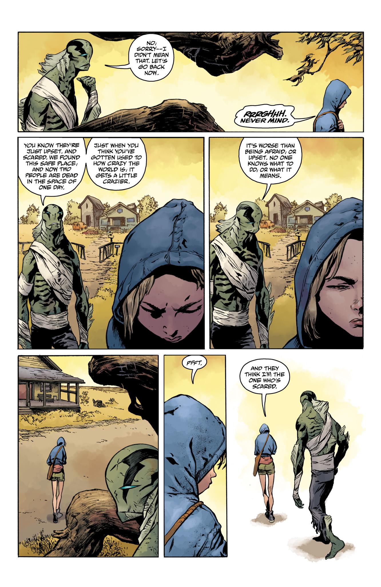 Read online Abe Sapien comic -  Issue #20 - 6