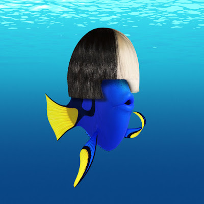 Image of Dory dressed as Sia with her wig