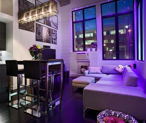 Trend Homes: Purple Room Decorating Ideas