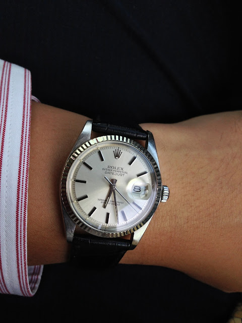 My Western Watch Collection: Rolex Oyster Perpetual ...Rolex Datejust 36mm On Wrist