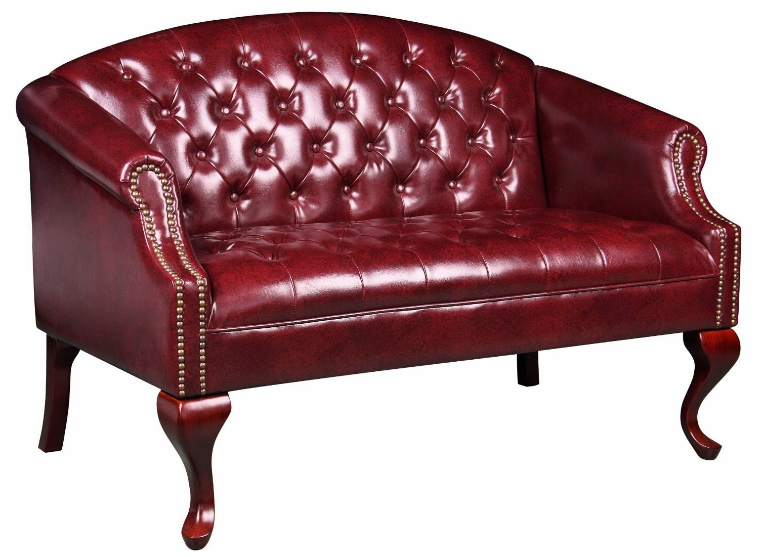 leather office couch. Boss Traditional Button Tufted Loveseat Sofa Leather Office Couch I