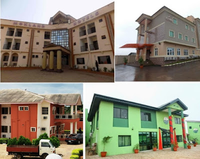 list of hotels in abeokuta