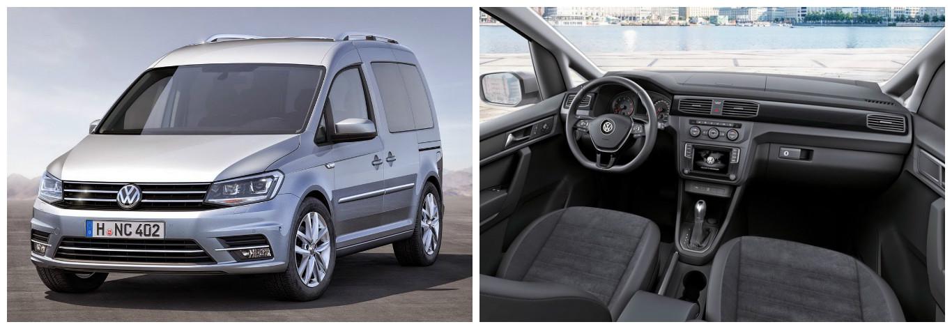 vw caravelle ve caddy için yeni motor ve donanım seçenekleri