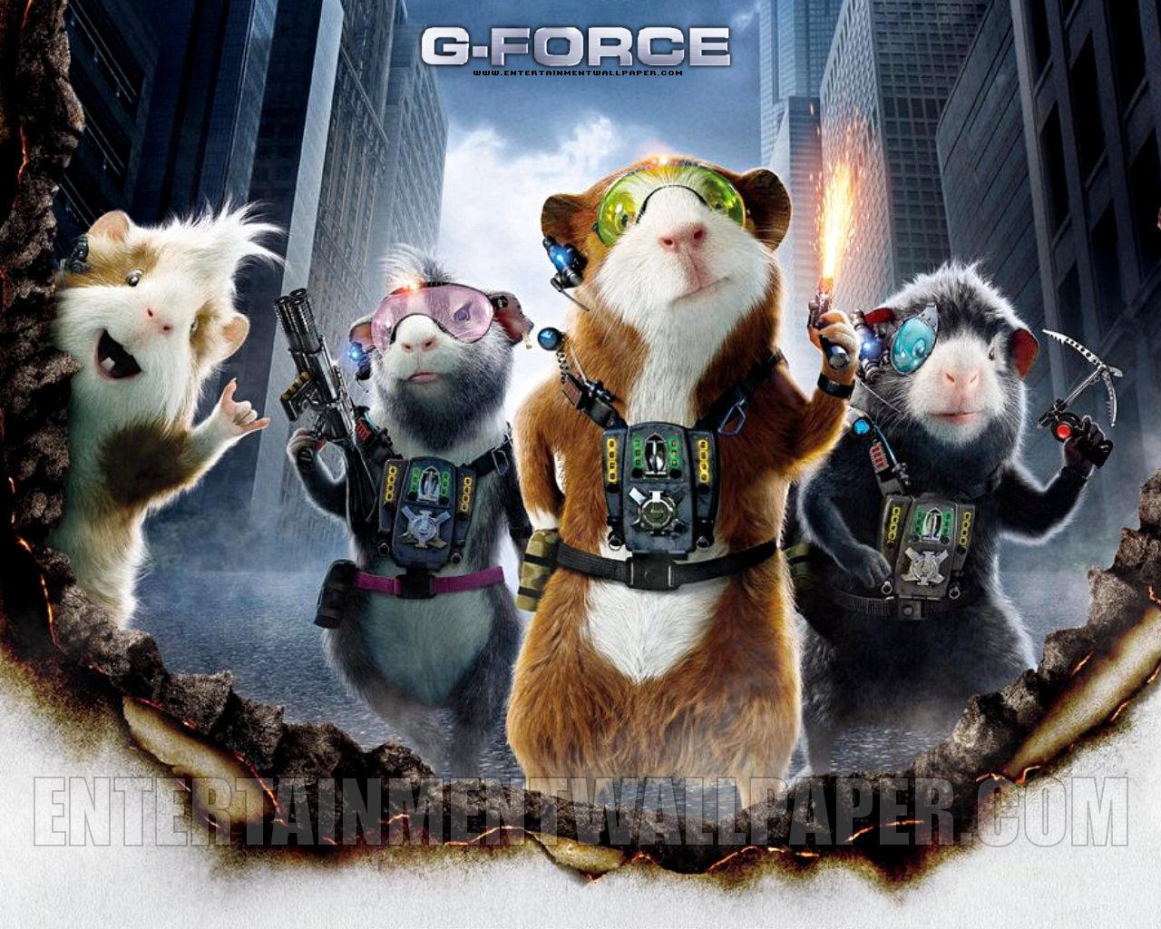 Gerbil G Force Movie