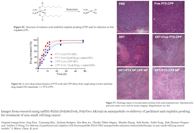mPEG-PLGA from PolyScitech used in development of dual-drug nanotherapy treatment for non-small cell lung cancer