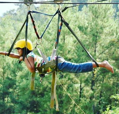 Wisata Brujul Adventure Park Kebumen