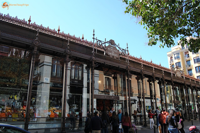 Mercado de San Miguel, Madrid, cosa vedere a madrid, itinerario a madrid, due giorni a Madrid, blogger madrid