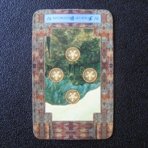 Reversed Four of Pentacles