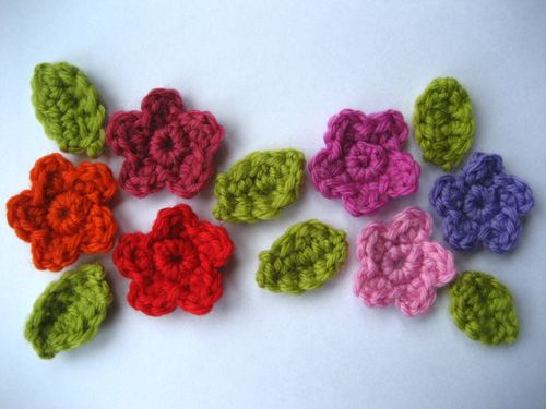 Crochet Flower Pattern Knitting Gallery