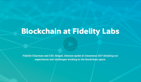 La Blockchain aux Fidelity Labs