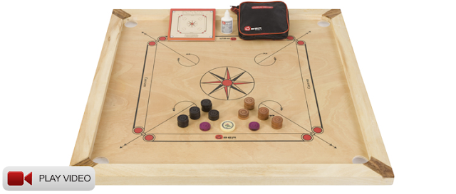 Uber Carrom Board