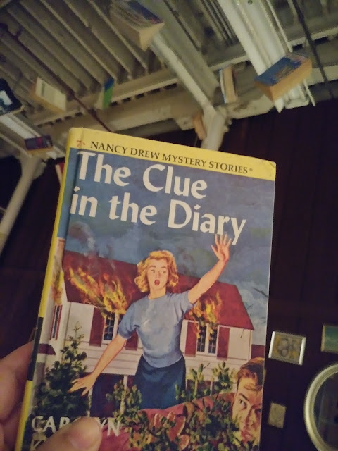 Nancy Drew old school book!