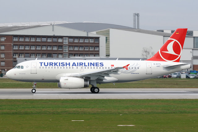 Turkish Airlines Airbus A319 D-AVYL
