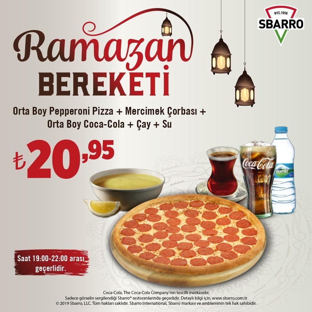 sbarro pizza fiyatları sbarro iftar menüsü sbarro ramazan menüsü sbarro kampanya