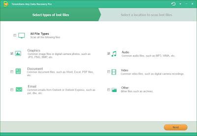 Tenorshare Any Data Recovery Pro 5 Sundeep maan